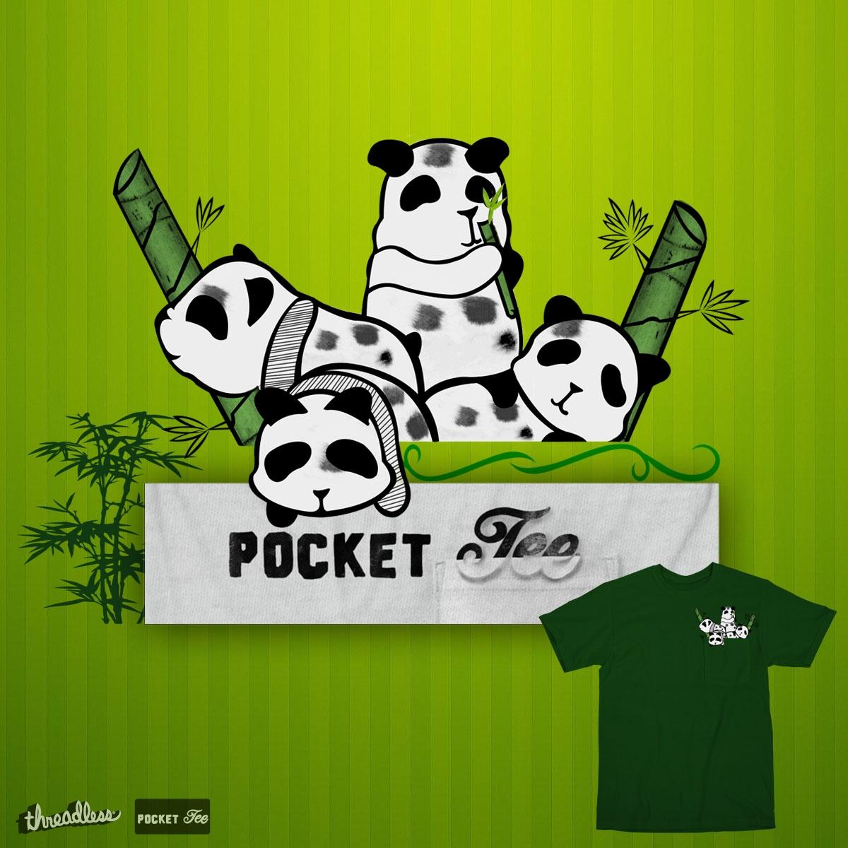 Panda Time by saimonanthony.a.suyko on Threadless