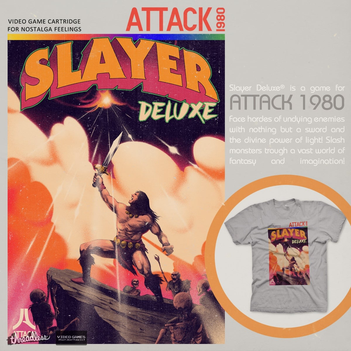 Slayer Deluxe by mathiole and hafaell on Threadless