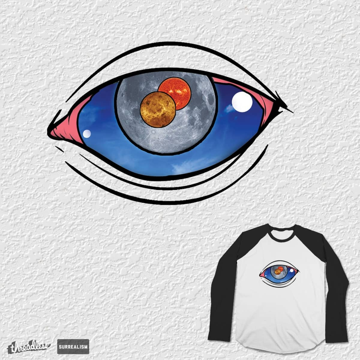 The Black Eye Galaxy by Bellorindesign on Threadless