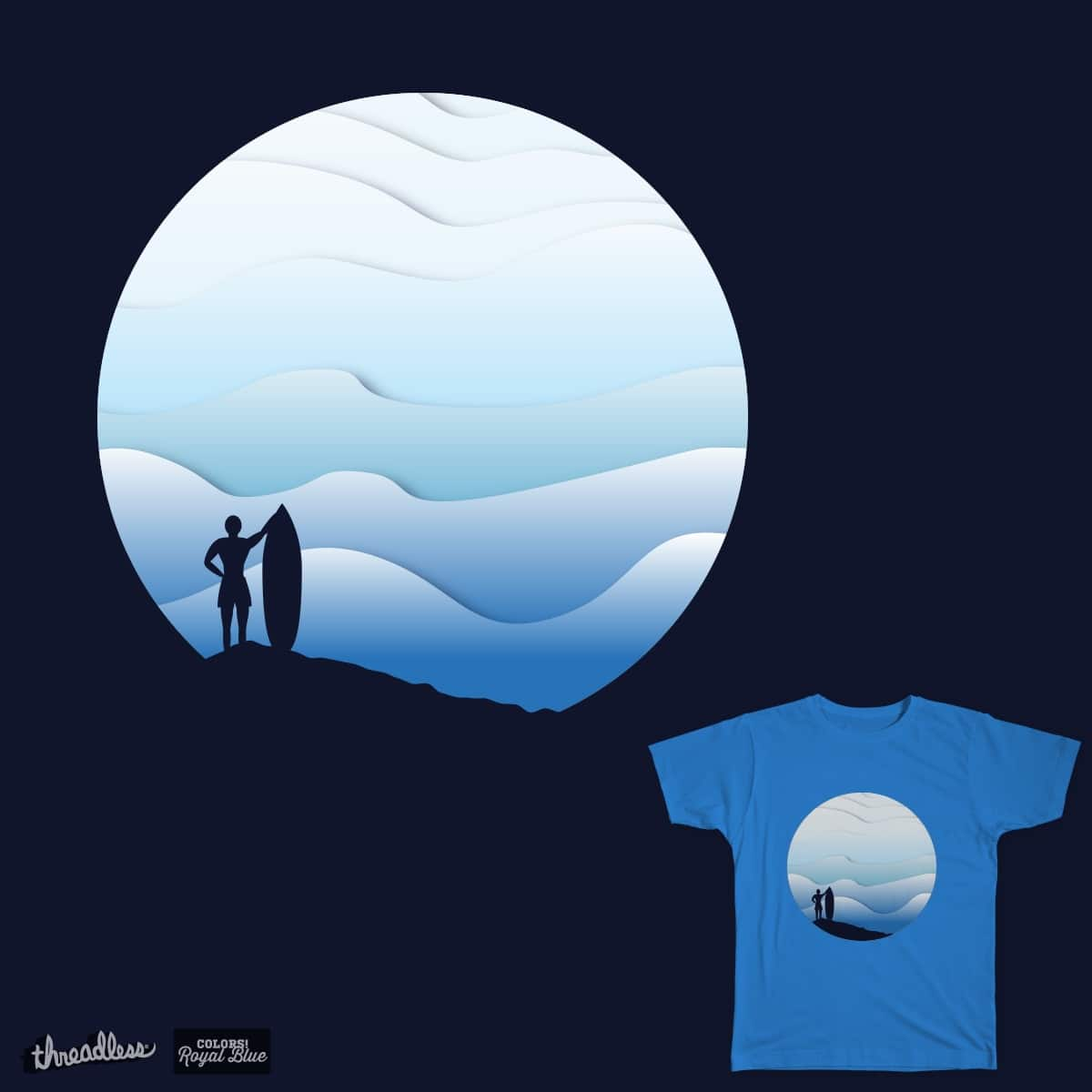 Surfer by Zuz_ana on Threadless