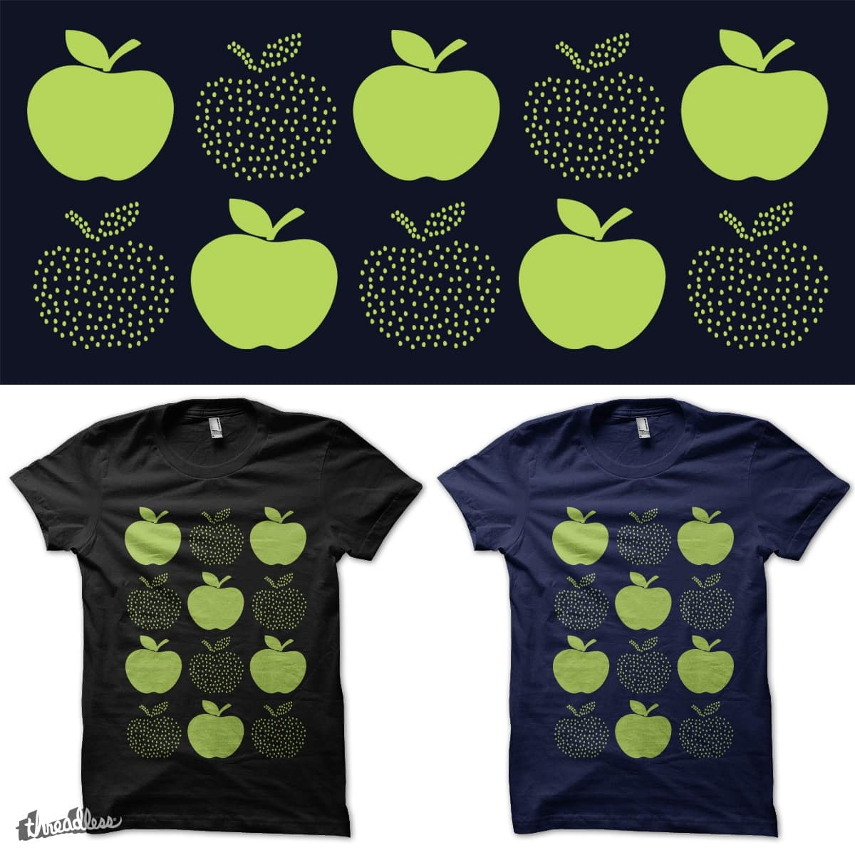 Juicy Apples by heyale on Threadless