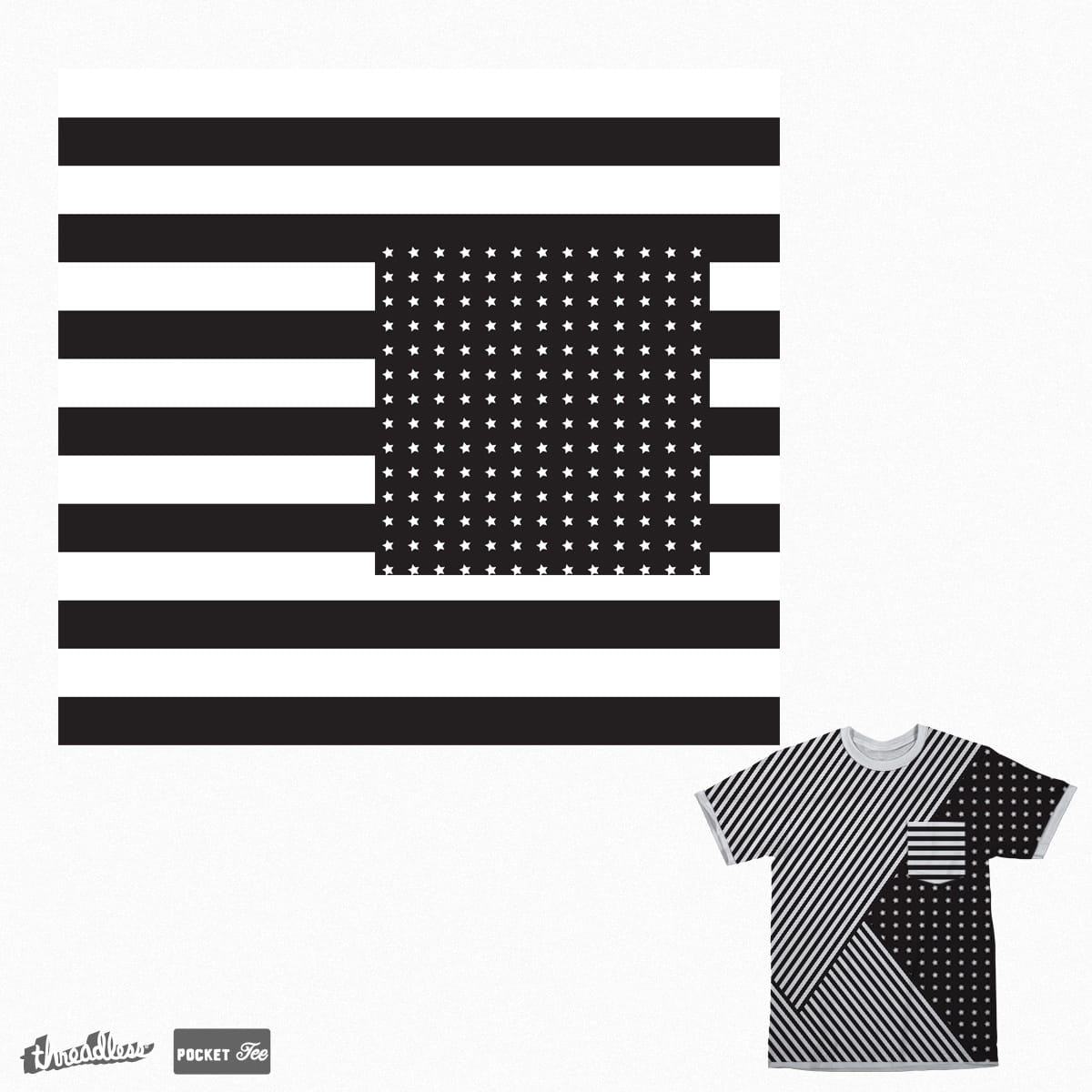 Stars and Stripes by RED DATA b on Threadless