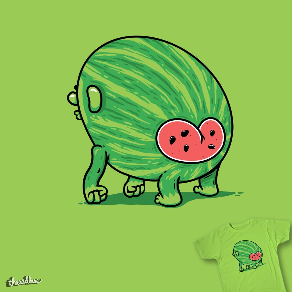 The Evolution of Watermelon by zayedforsale on Threadless