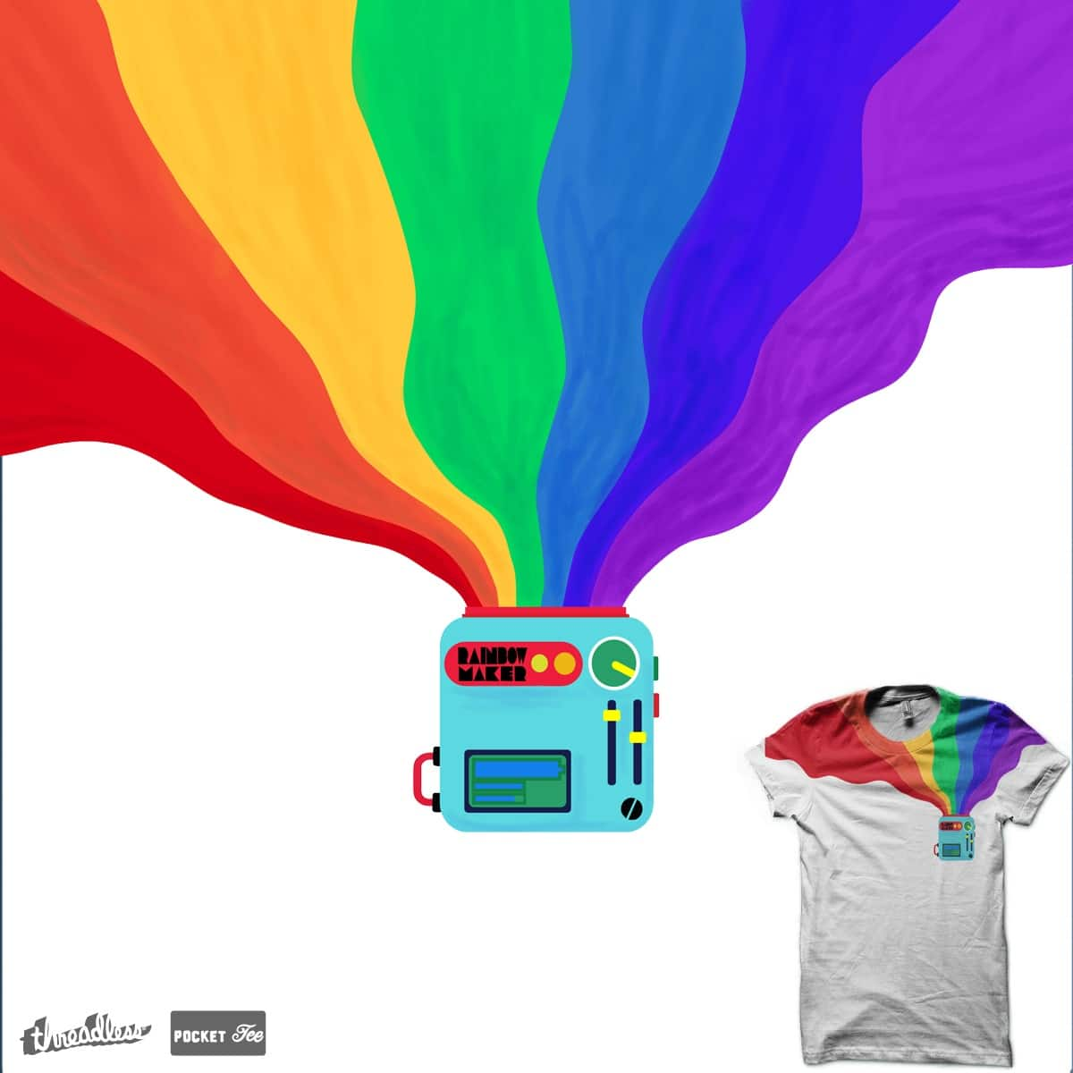 I need a pocket rainbow-maker to stay fabulous by BlueHairedCat on Threadless