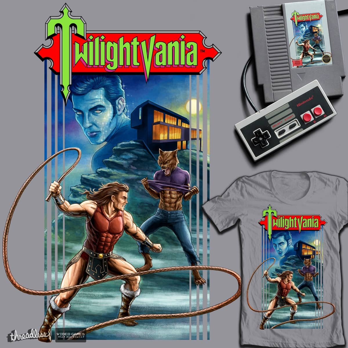 Twilightvania by Moutchy on Threadless