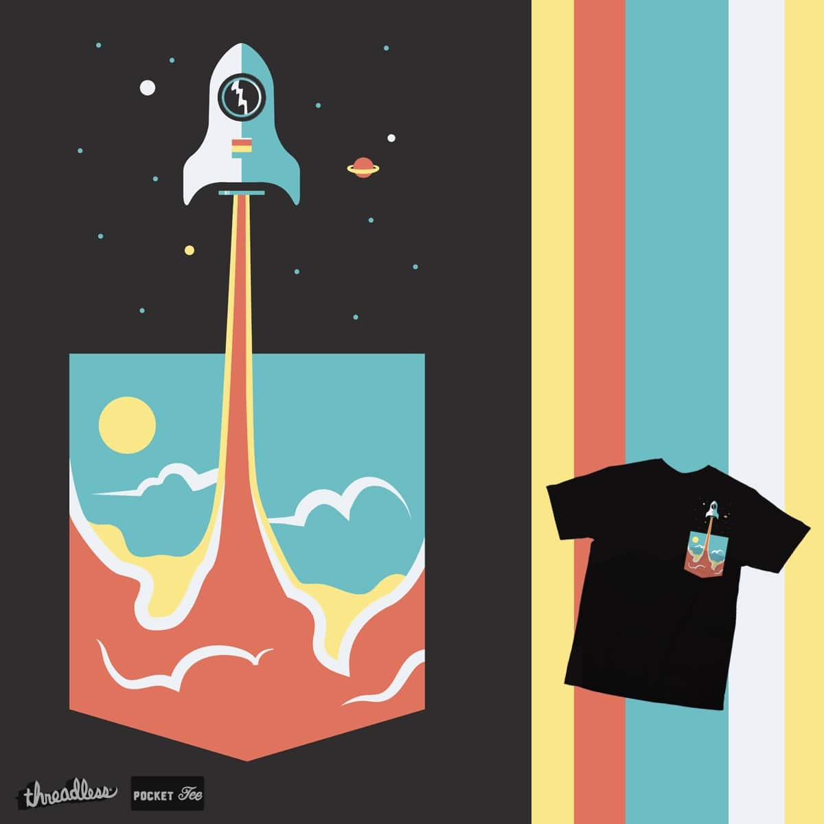 pocket rocket by campkatie on Threadless