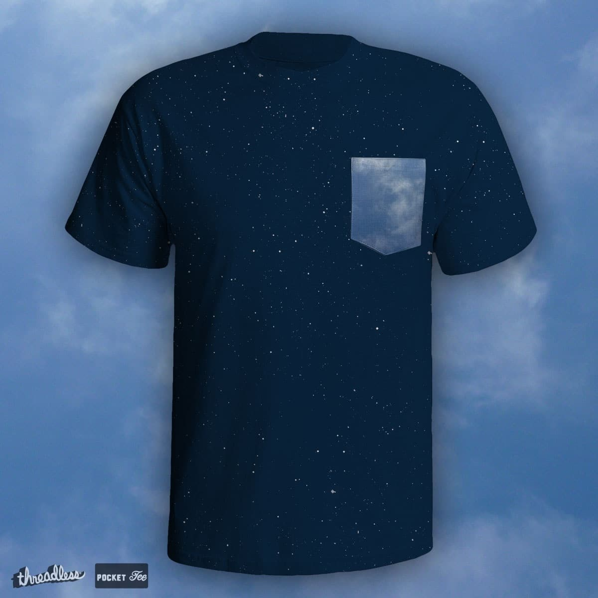 Mr Blue Sky by quick-brown-fox on Threadless