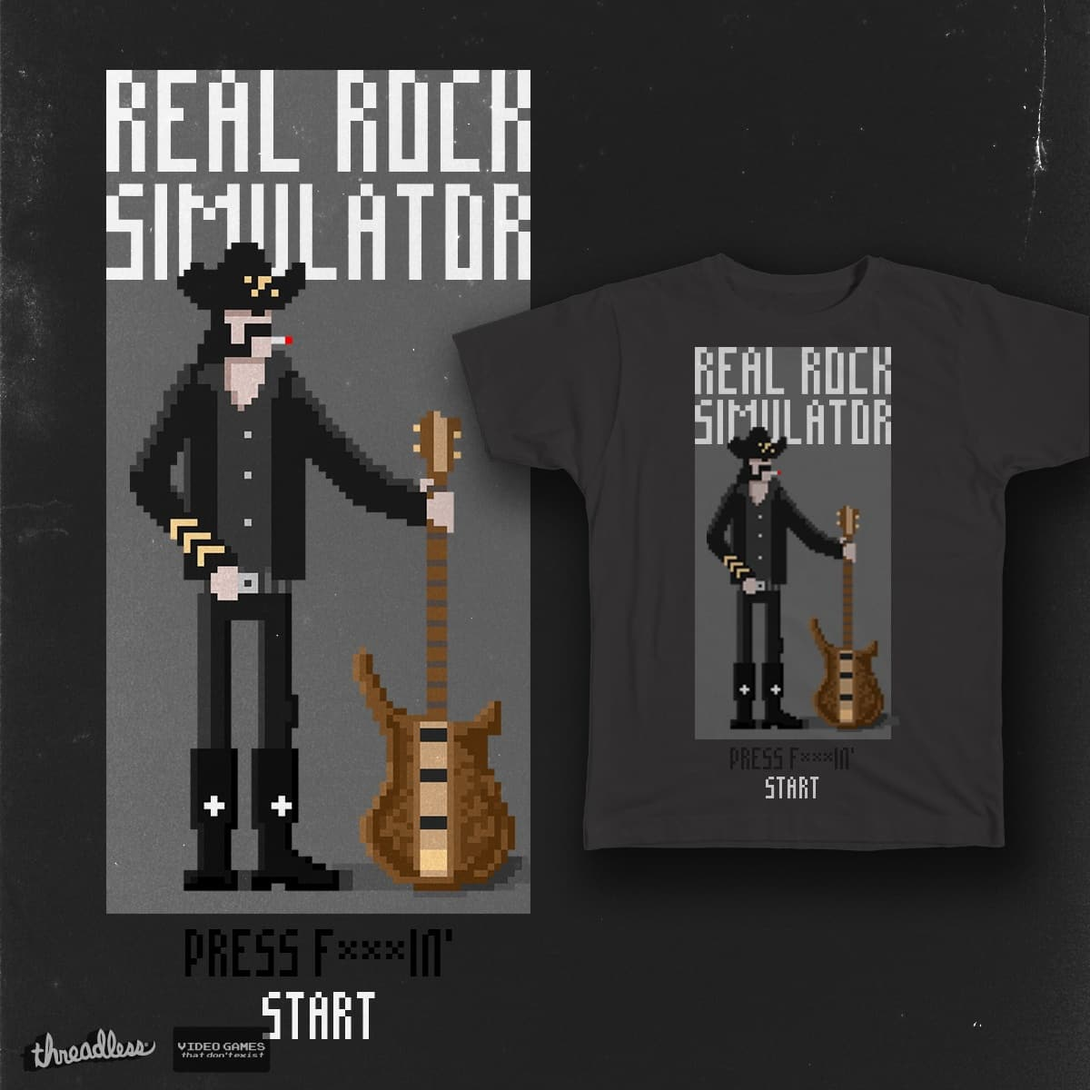 REAL ROCK SIMULATOR by indigoworks on Threadless