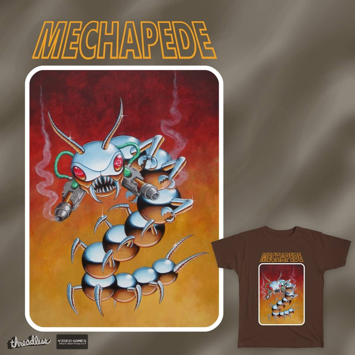 MECHAPEDE by Flarfy on Threadless