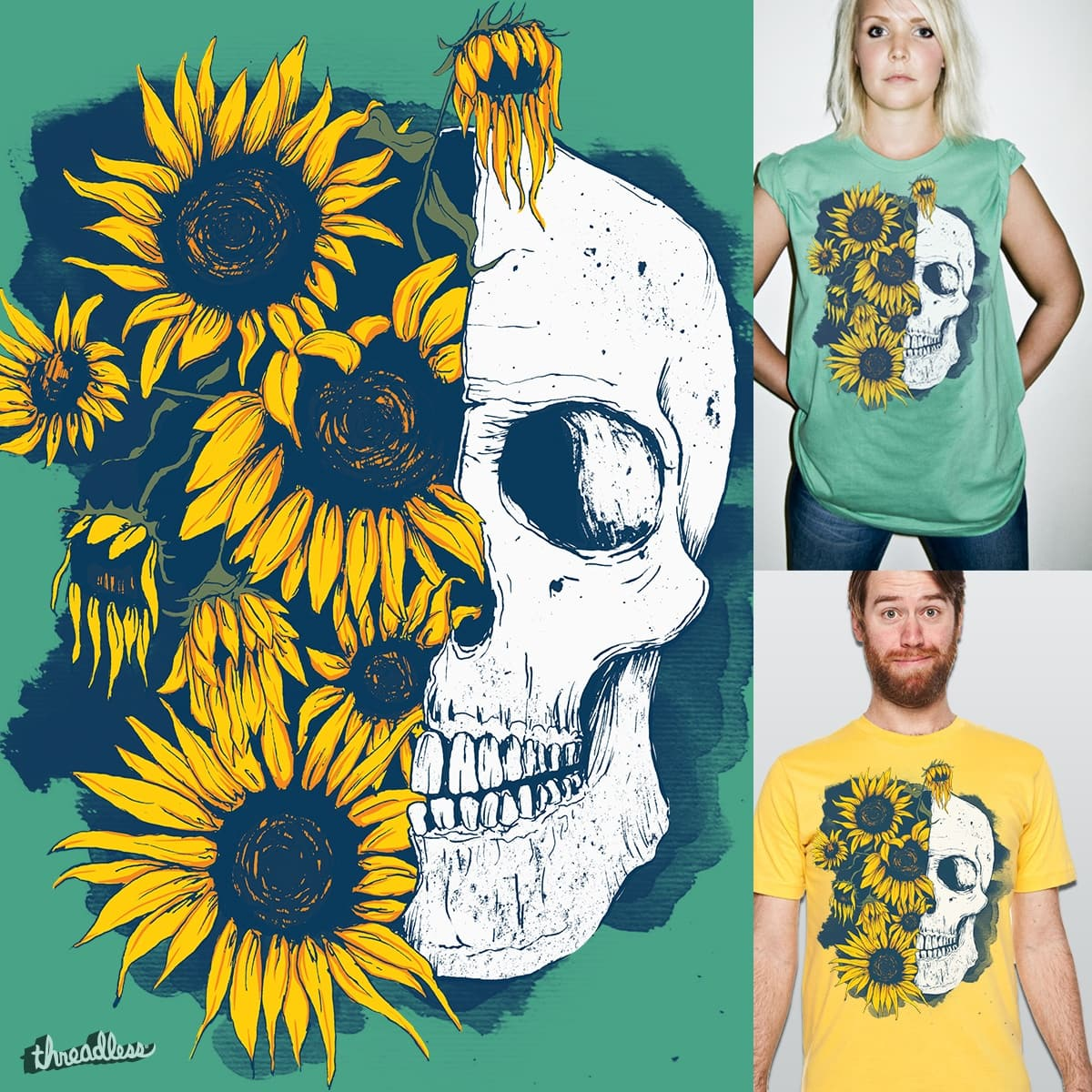 sunflowers by silvestre.rodrigues.9 on Threadless