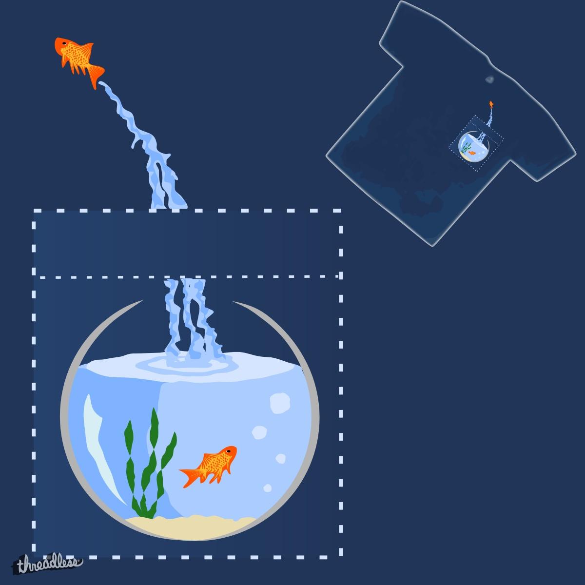 Goldfish by TRYBYK on Threadless
