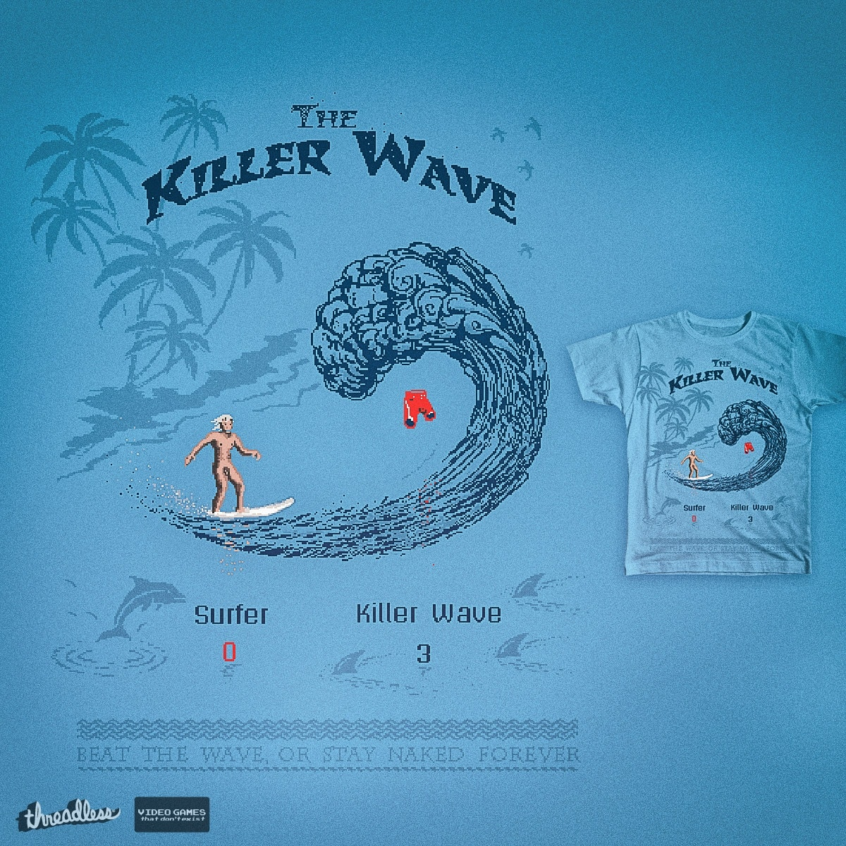 The Killer Wave by 38Sunsets on Threadless