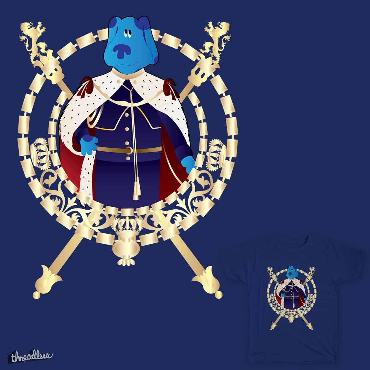 "Royal ""BLUE"" by Buckeen on Threadless"
