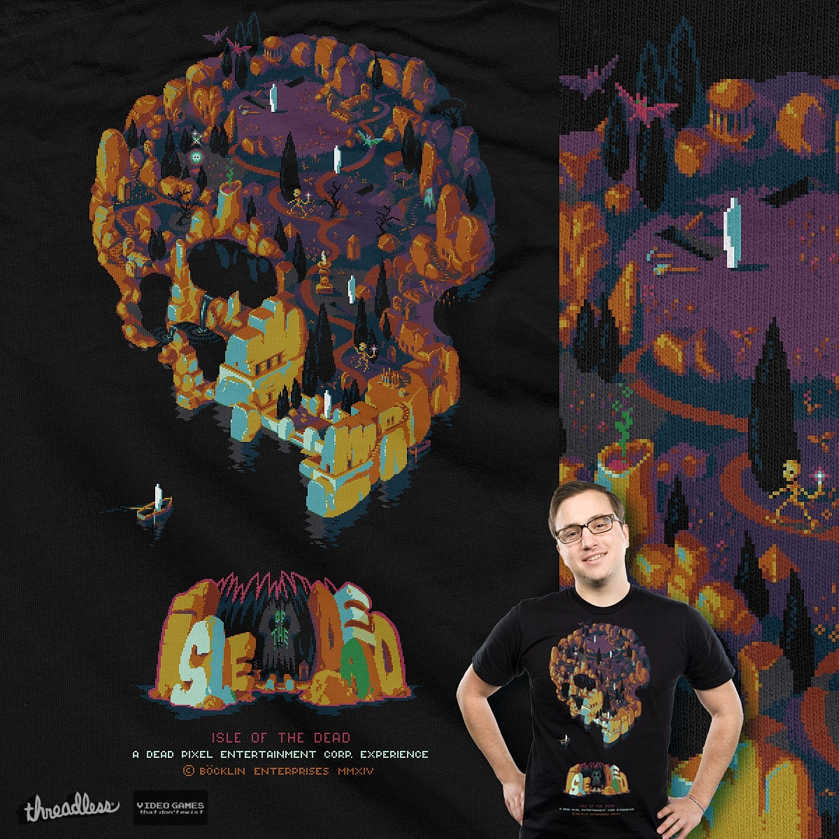 Isle of the Dead / The Game by Manupix on Threadless