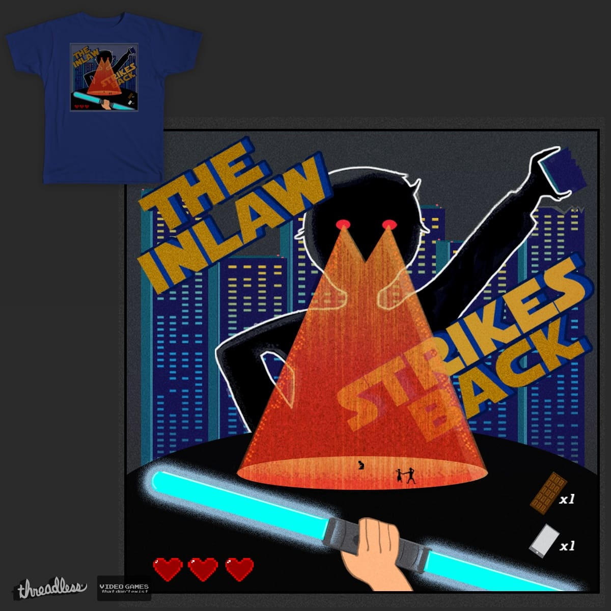 The In-Law Strikes Back by sarasibylle on Threadless