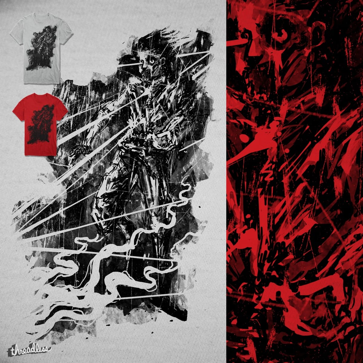 Zombie Shooter by barmalisiRTB on Threadless