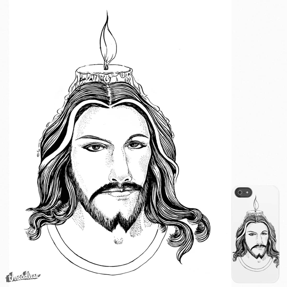 JESUS CHRIST by aspdesigns on Threadless