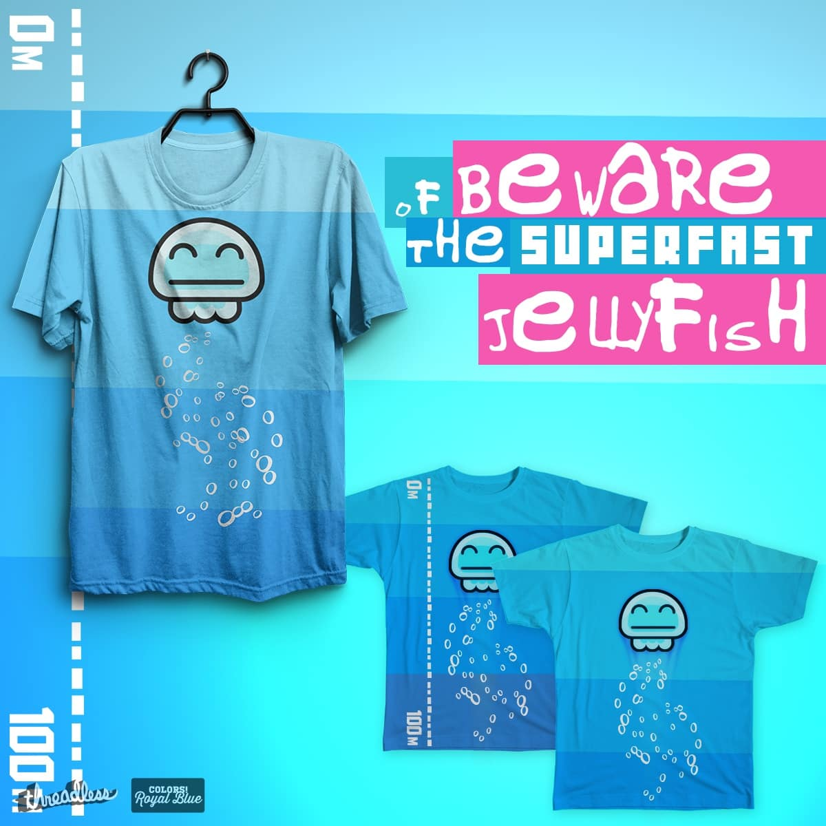 Beware of the Superfast JellyFish by milios.thanasis on Threadless