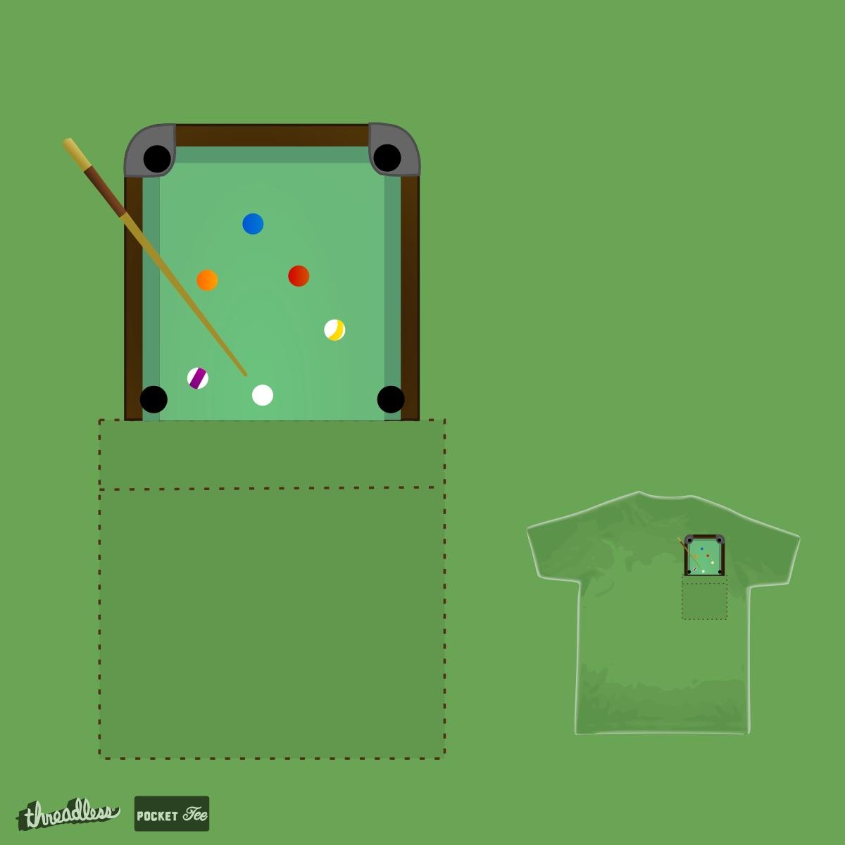Pocket Pool by TRYBYK on Threadless