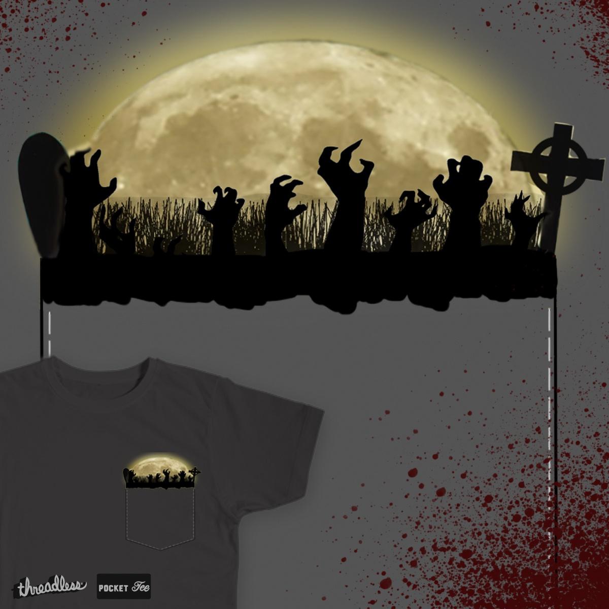 Zombie by Ciuna on Threadless