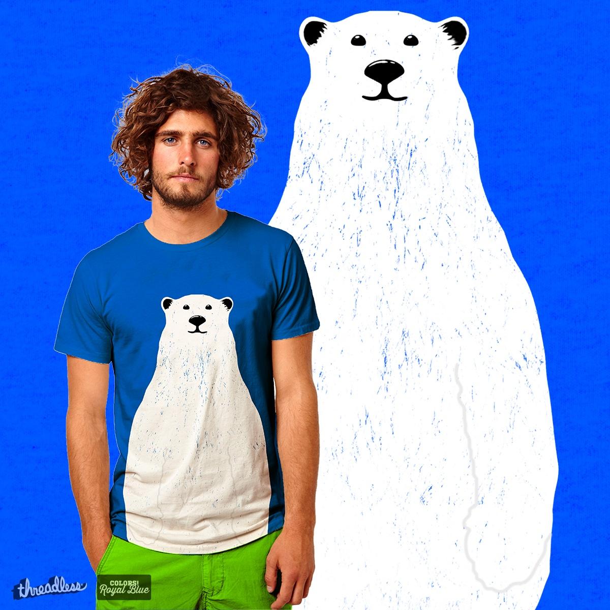 Polar Bear by Chevinster on Threadless