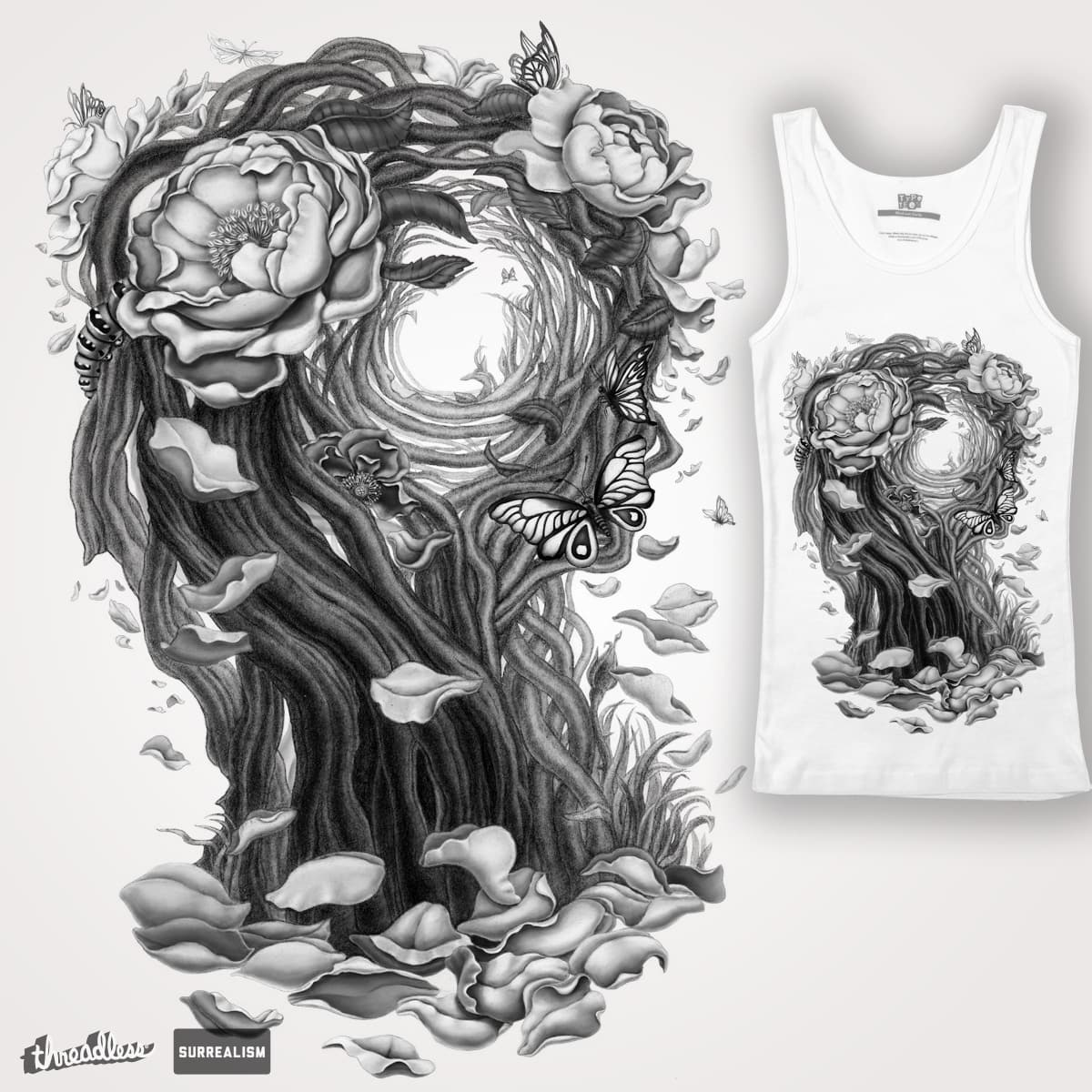 Surreal Alice by Ircadelik on Threadless