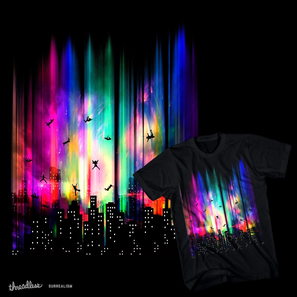Feel Without Gravity by chingmoncheng on Threadless