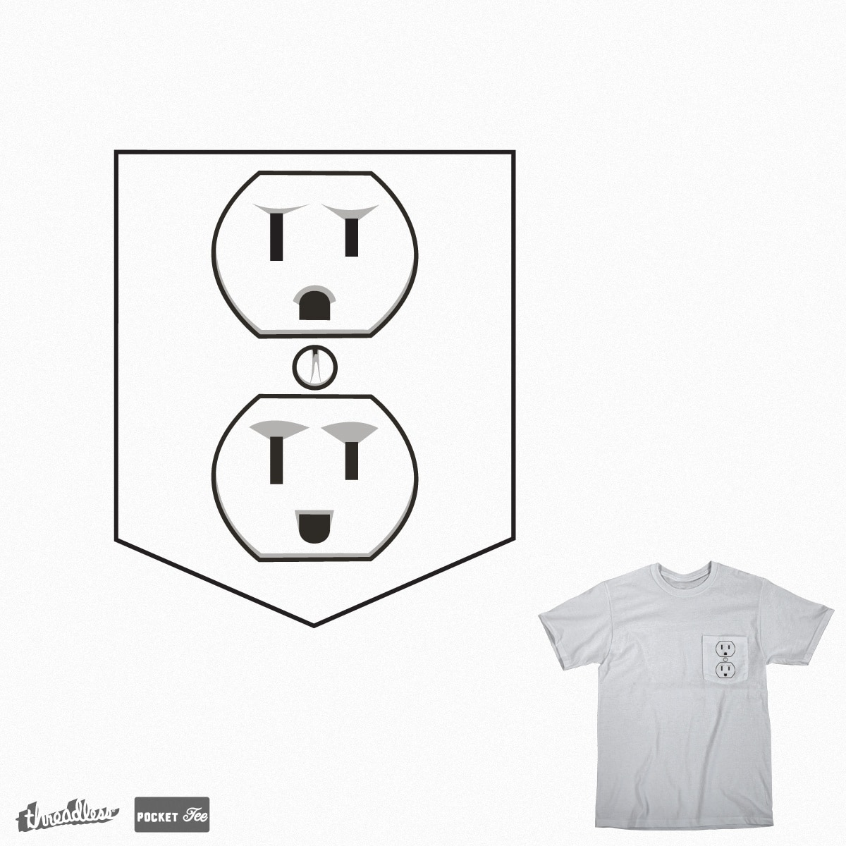 Pocket Socket  by krisren28 on Threadless