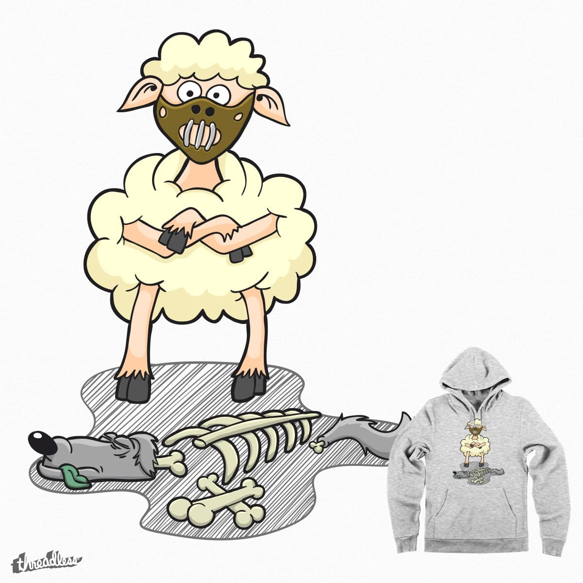Silence of Lamb by andyk77 on Threadless