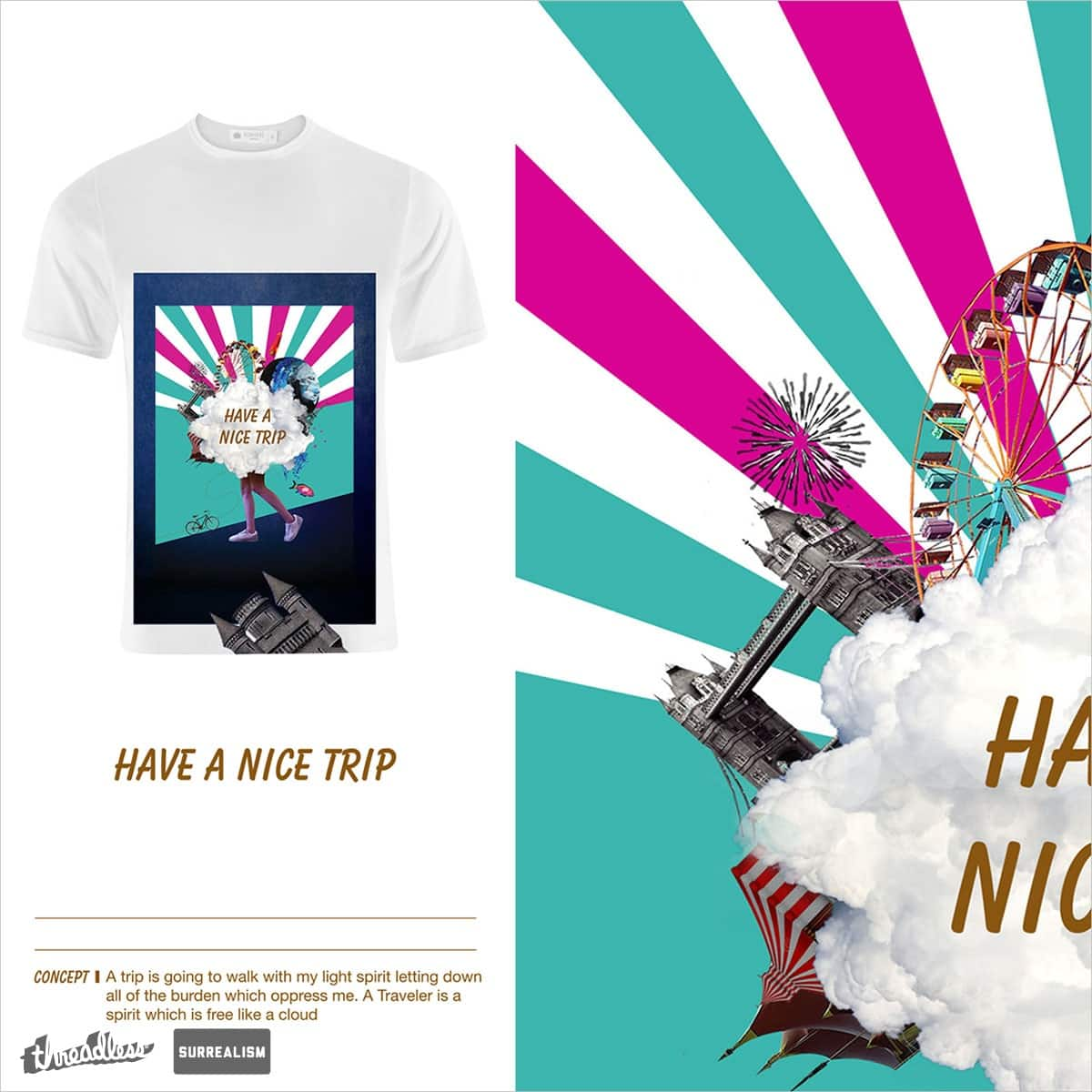 Have a nice trip by goldsilver on Threadless