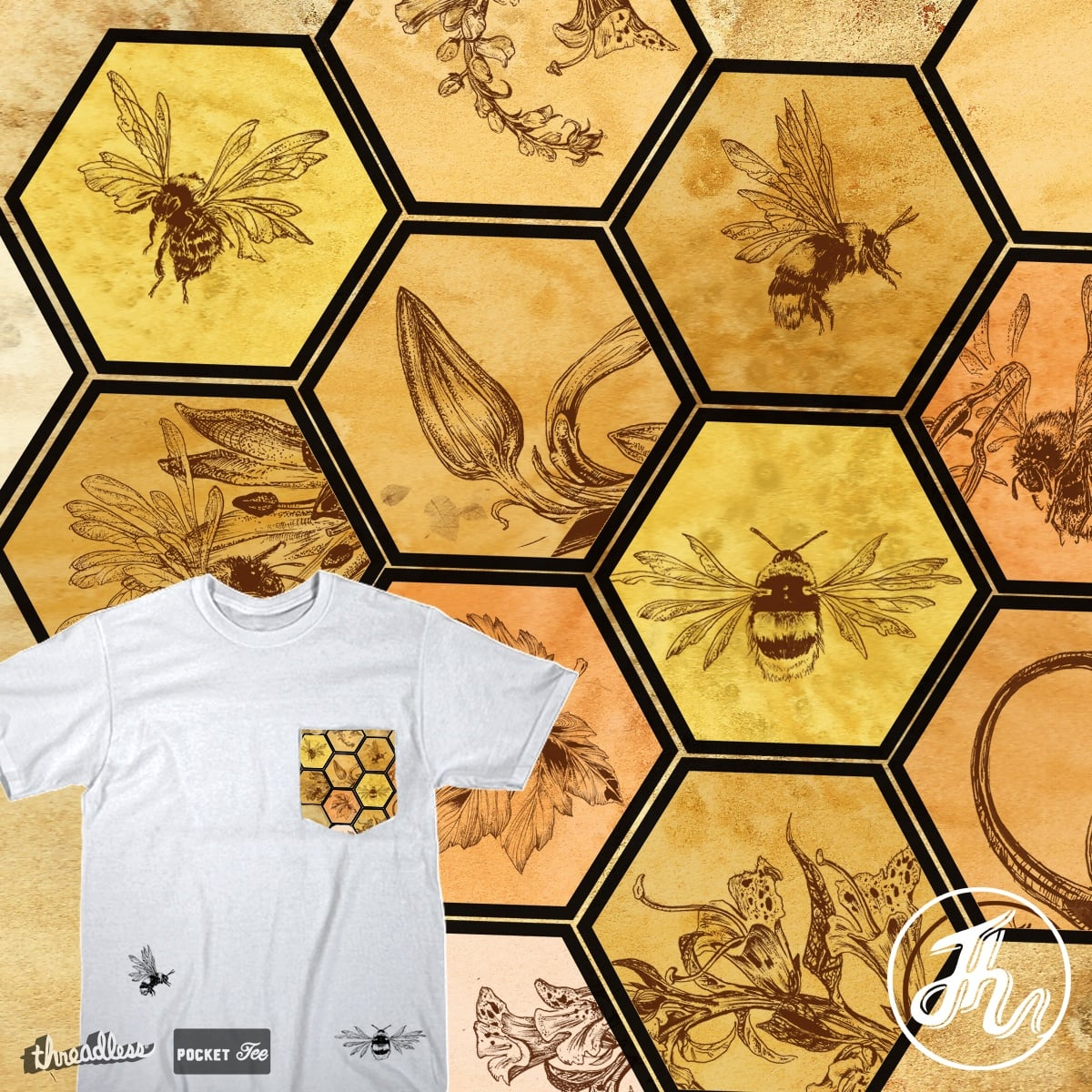 Honey Pocket by JonHabens on Threadless