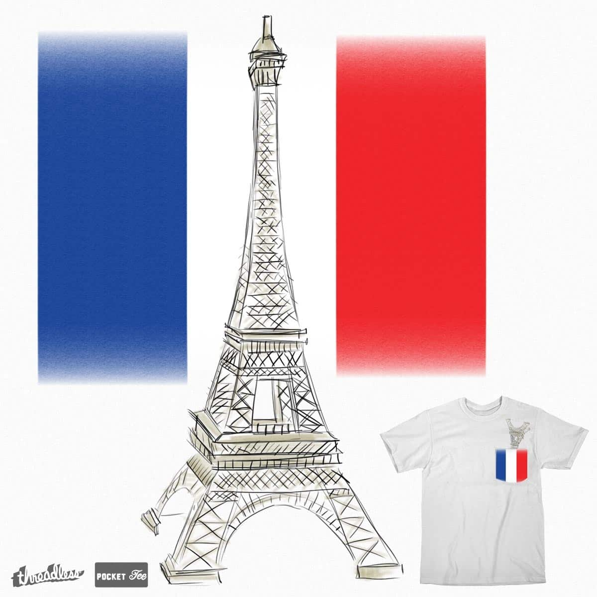 France lovers by Parin on Threadless