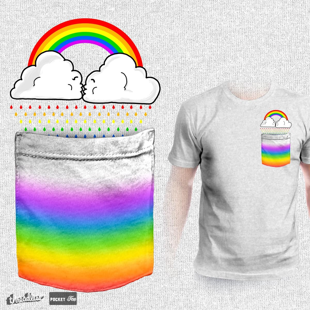 Love colors by Zakeu on Threadless