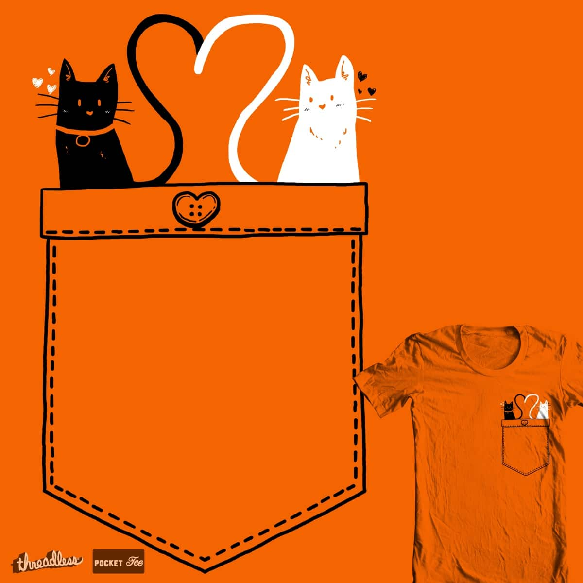 poCATs Love by tobiasfonseca on Threadless