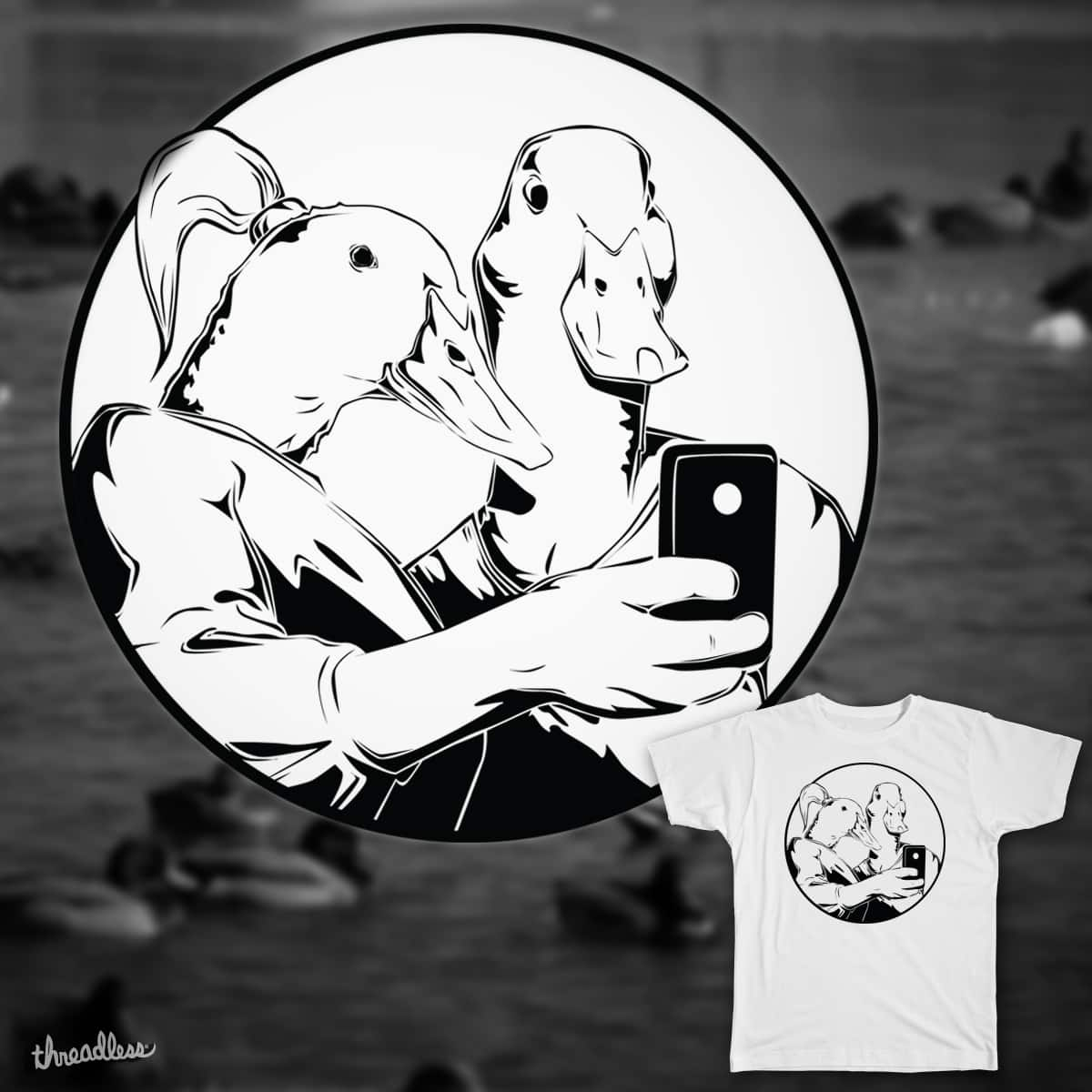 Duck Face in its Purest Form by drawnsean on Threadless