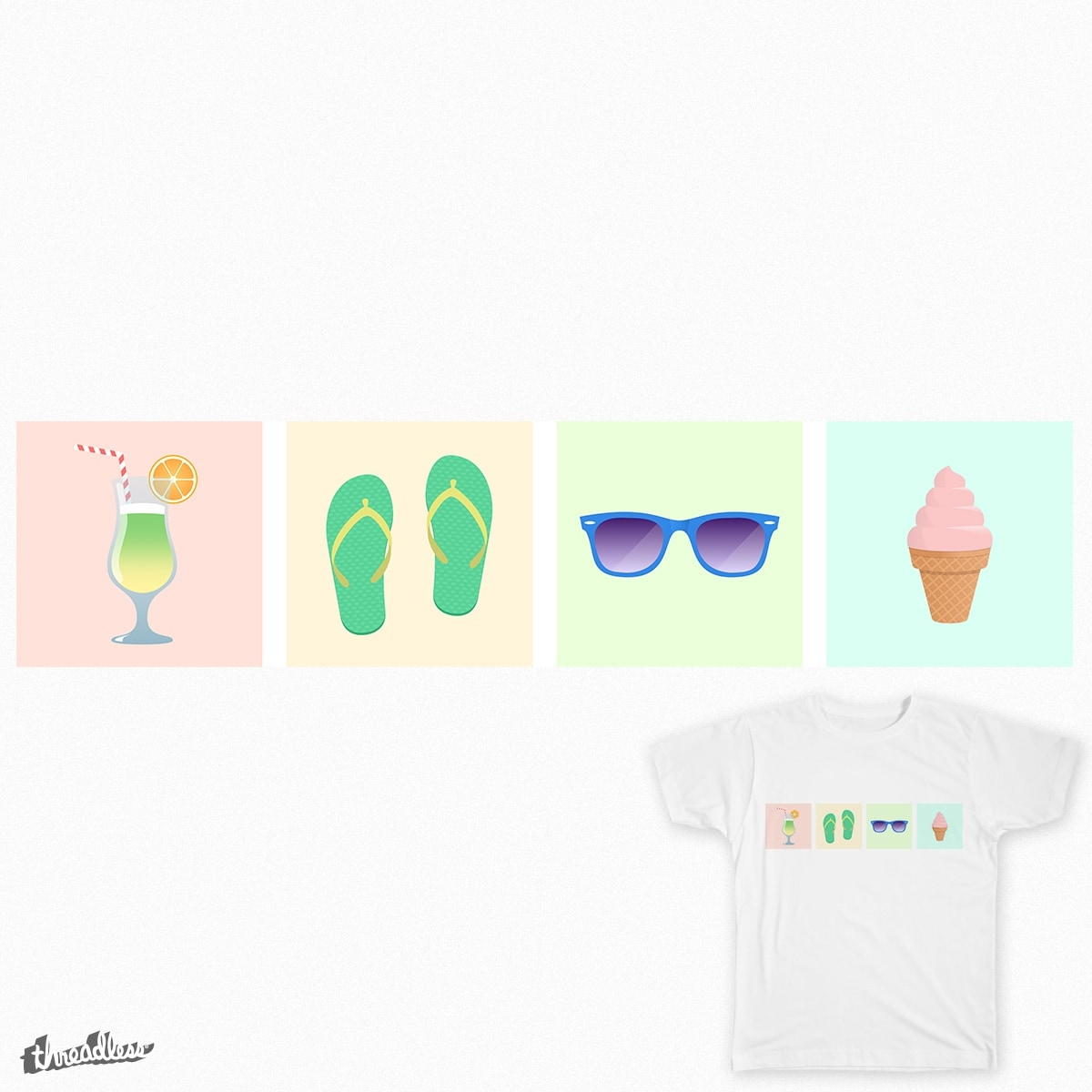just summertime by francesco.scalambrino.7 on Threadless