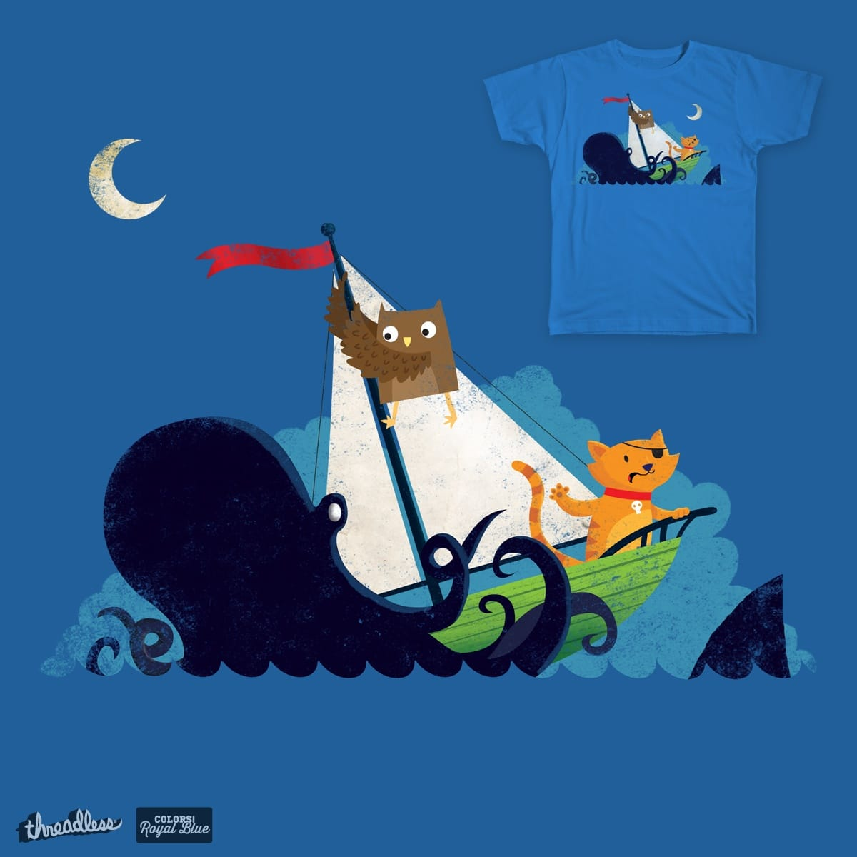 The Owl and the Pussycat were Unprepared by DinoMike on Threadless