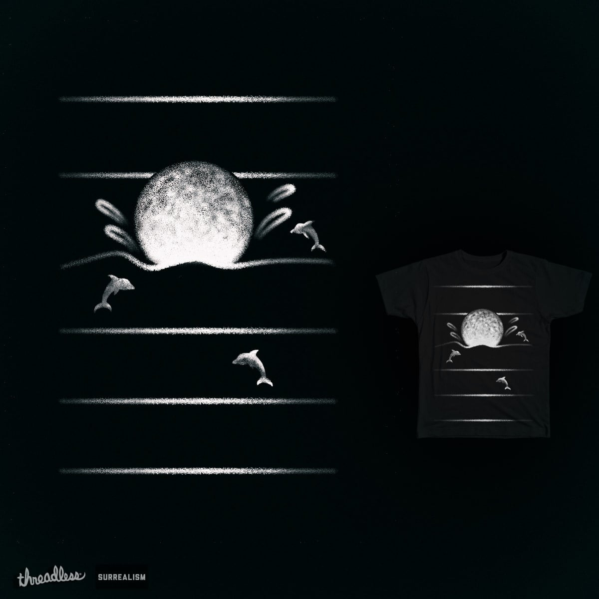 The Mystery of the Ordinary Moon by 38Sunsets on Threadless