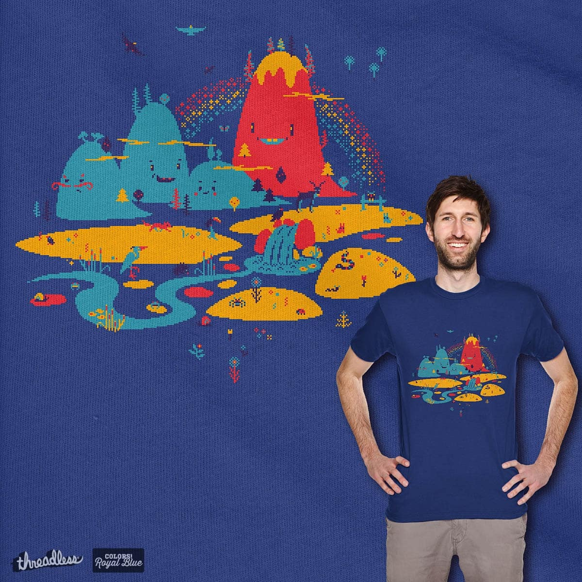 The Long Way to School by Manupix on Threadless