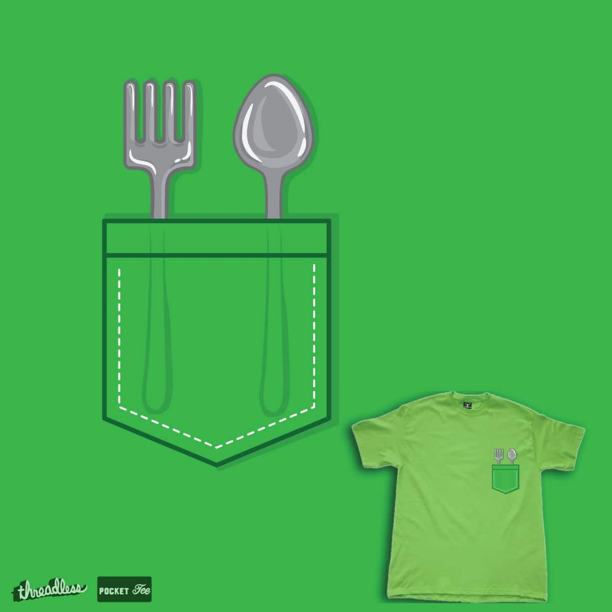 weapon for food fight by je14 on Threadless