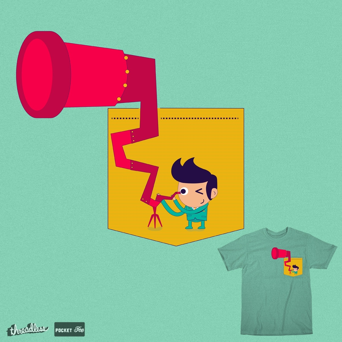 detective by designilove on Threadless