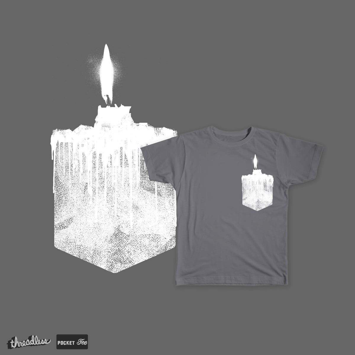 candle by bulo on Threadless