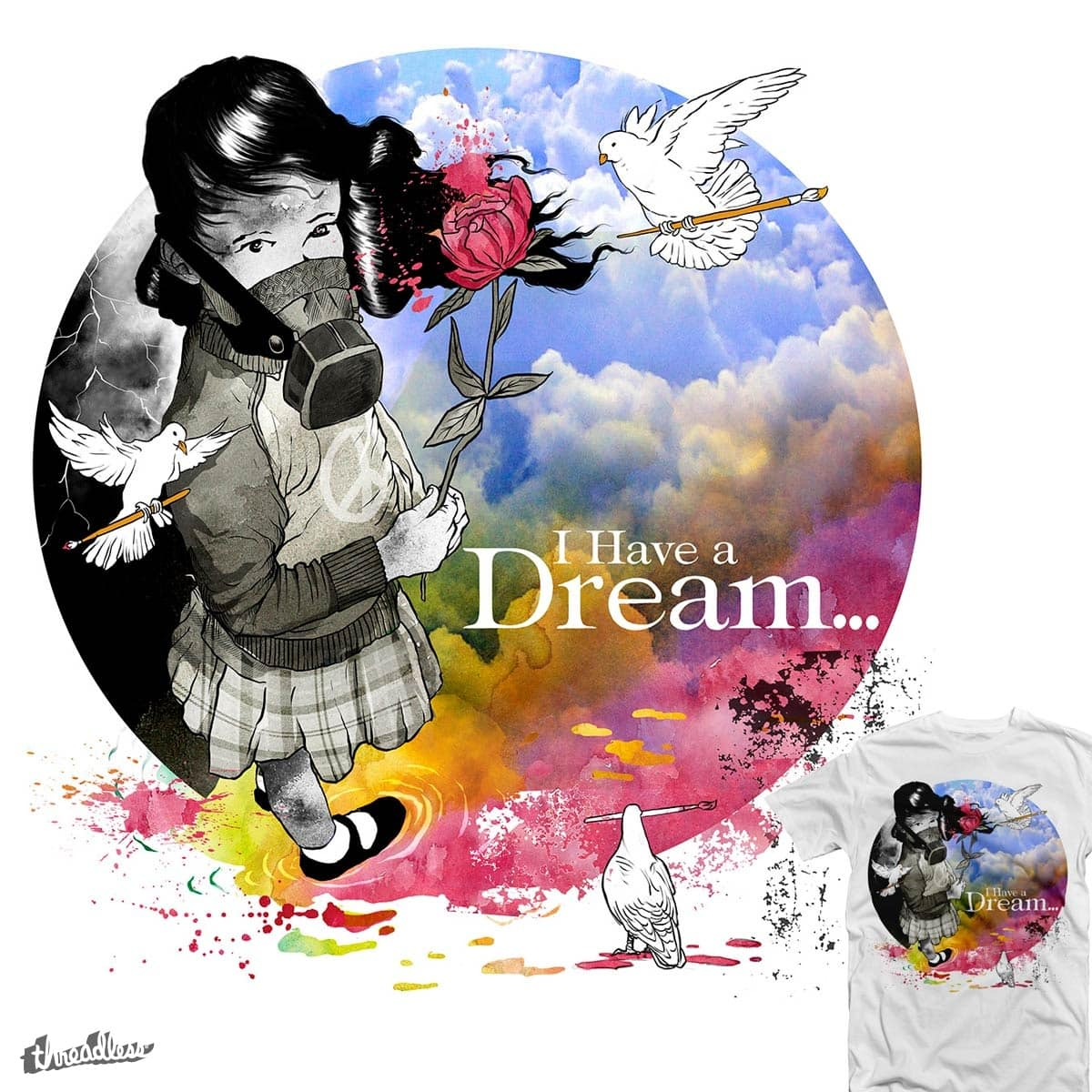 I Have Dream... by rodisleyd on Threadless