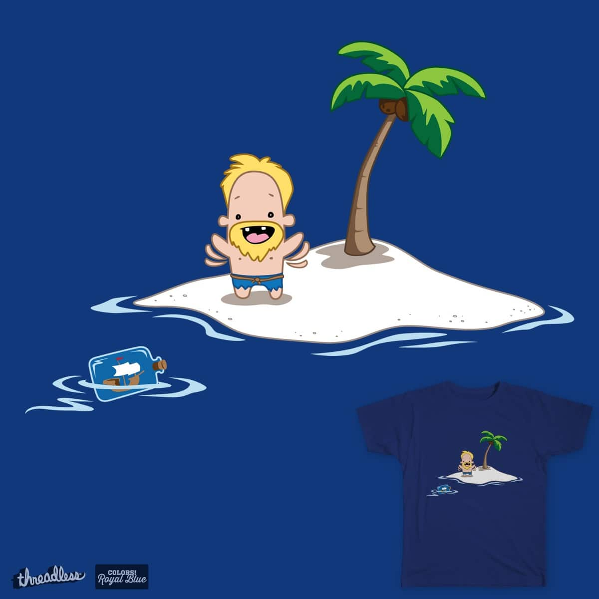 Rescued? by lyon.kevin on Threadless