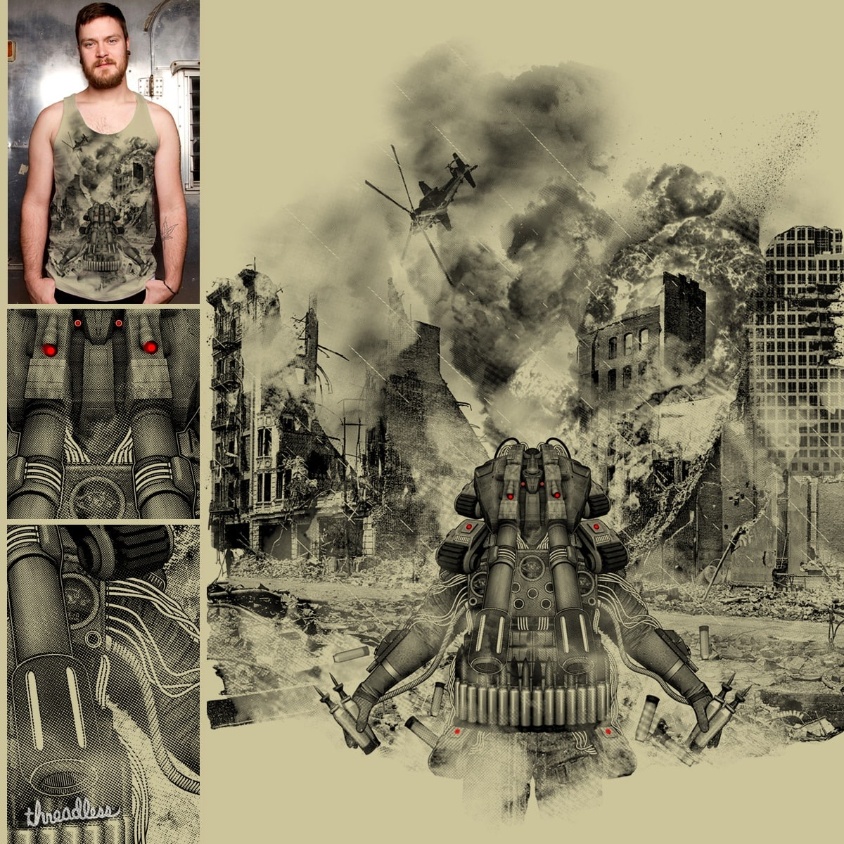 THE TANK by FRANZSYD CEBU on Threadless