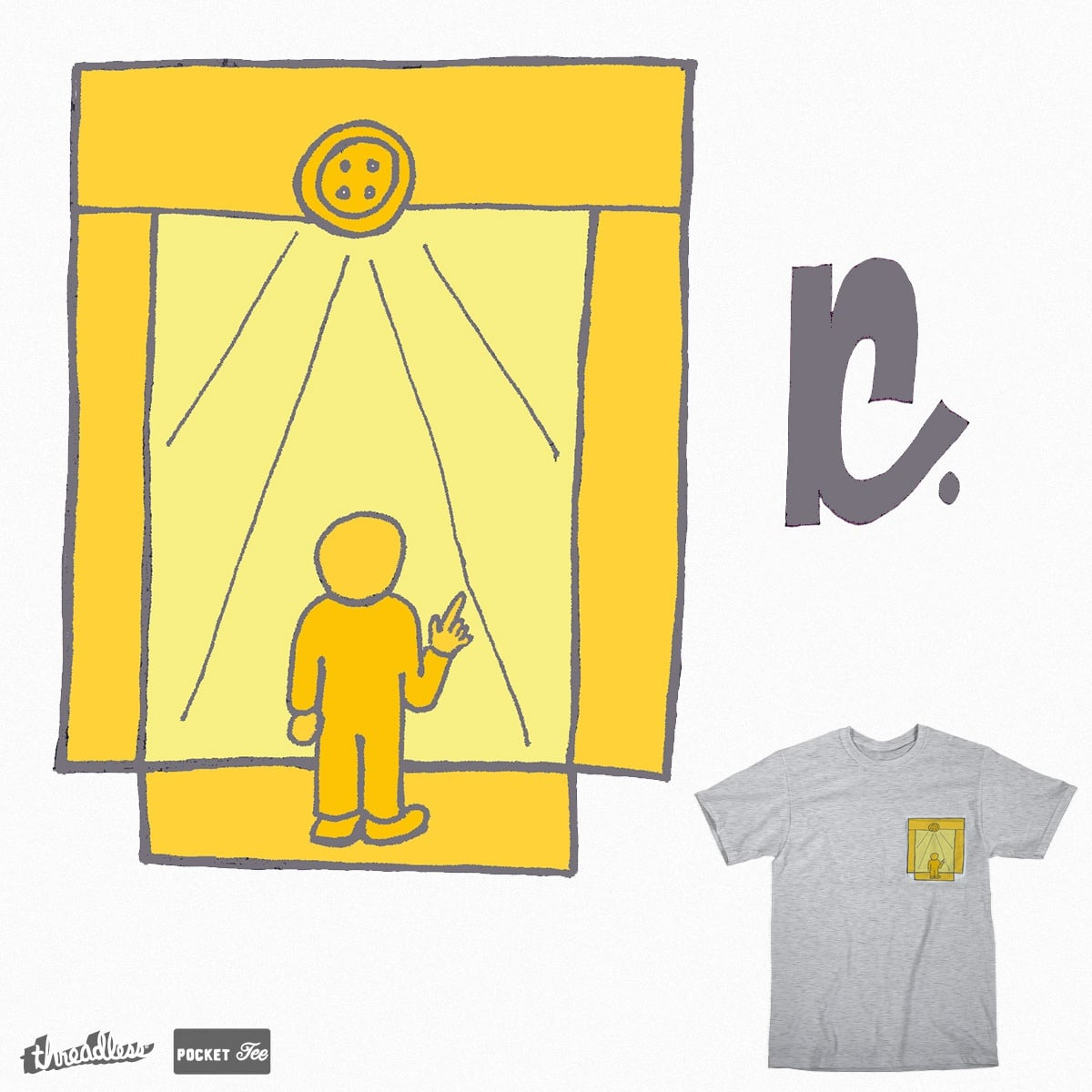 Pocket Gate by Kettleheadmex on Threadless