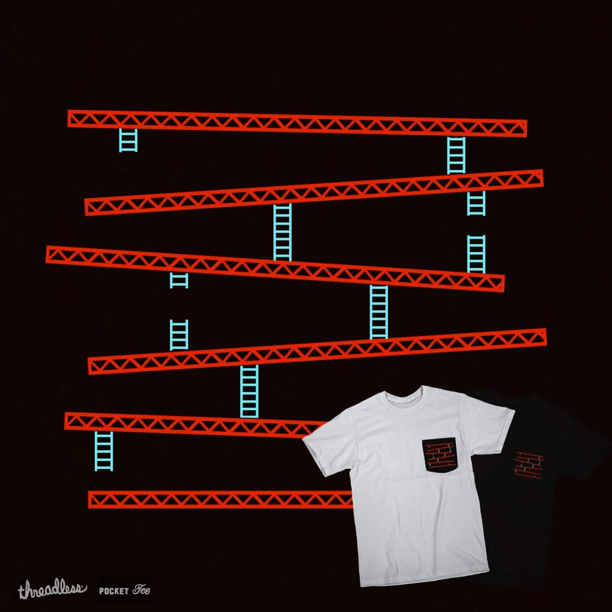Beams & Ladders  by Evan_Luza on Threadless