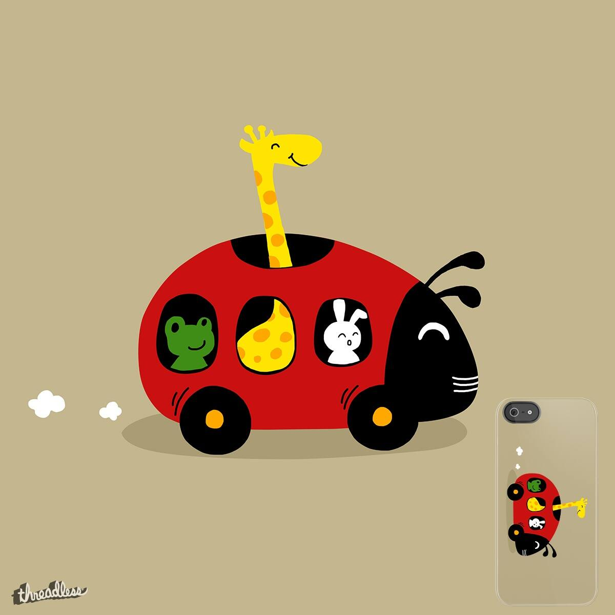 The beatle is a car by bebluesky on Threadless