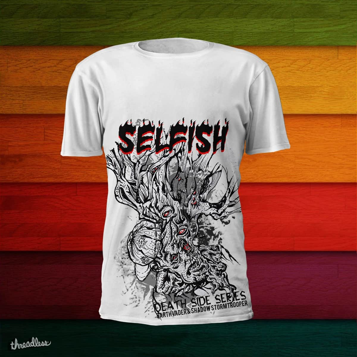 SELFISH by tusclothing on Threadless