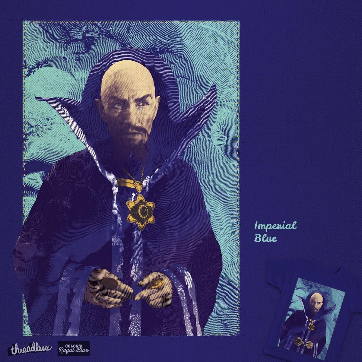 Imperial Blue by KosMarkatos on Threadless